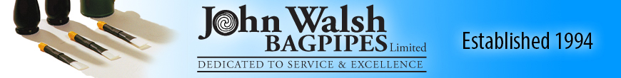 John Walsh Bagpipes Ltd. - Practice Chanters - Walsh Eco-Friendly Hardwood Practice Chanter